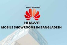 Huawei Mobile Showrooms in Bangladesh
